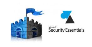 WF Microsoft Security Essentials logo antivirus