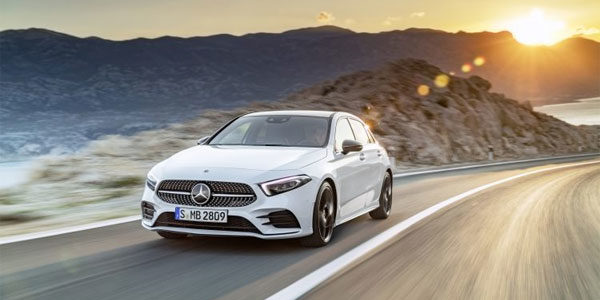 Technologie embarquée dans une Mercedes Classe A
