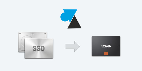 WF SSD Samsung tutoriel cloner