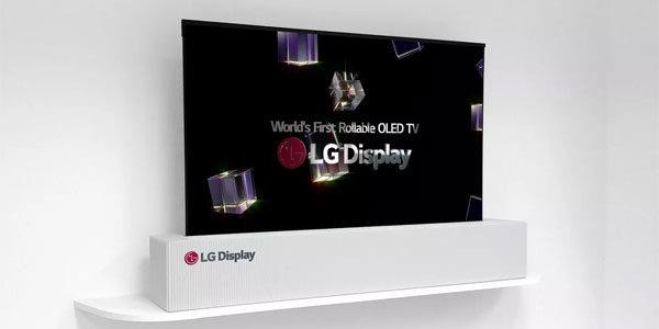 LG présente une TV enroulable