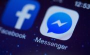 Facebook Messenger en thème sombre