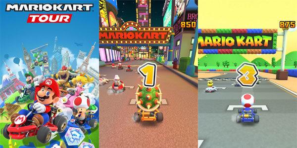 Mario Kart sur Android et iPhone