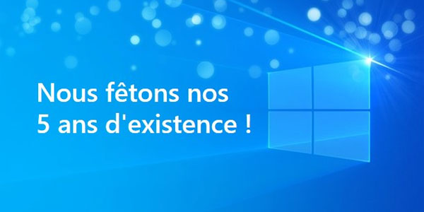 anniversaire windows insiders 5 ans
