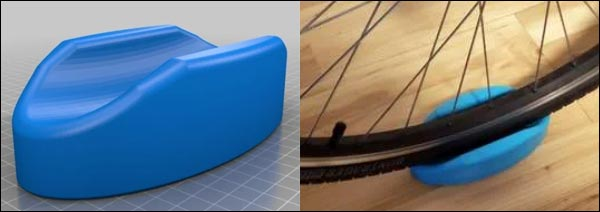 support velo imprimante 3D