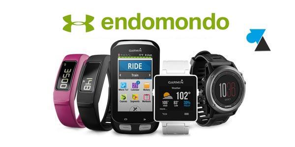 Garmin Endomondo montre sport gps