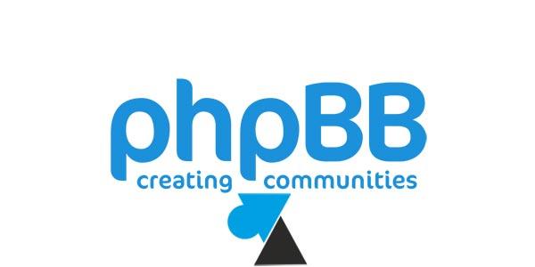 Désactiver les inscriptions sur un forum phpBB