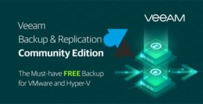 Veeam Backup & Replication Community Edition