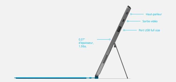 presentation photo tablette Microsoft Surface RT Windows 8