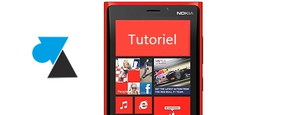 W8F Tutoriel Windows Phone pour Nokia Lumia