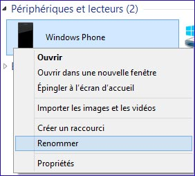 tutoriel renommer Windows Phone Nokia Lumia