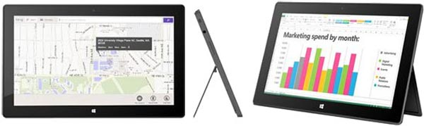 tablette Microsoft Surface Pro avec Windows 8 Professionnel