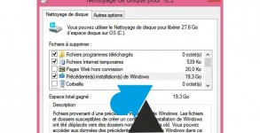 comment faire du menage fichiers temporaires inutiles Windows8
