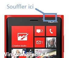 Lumia 920 sensor issue call
