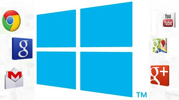 Quand sortiront les applications Google sur Windows 8 et Phone ?