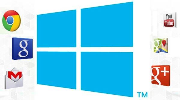 applications Windows8 vs Google Apps W8F