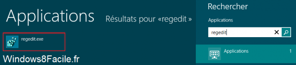Windows 8 RT Registre