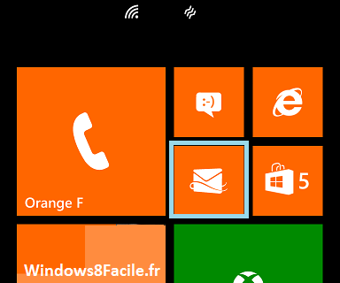 Windows Phone 8 e-mail signature tuto