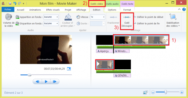 <b>Windows</b> <b>Movie</b> <b>Maker</b> tutoriel : <b>ajouter</b> un titre ...