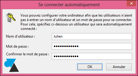 tutoriel supprimer mot de passe demarrage Windows 8