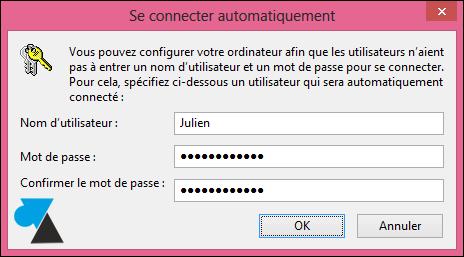 tutoriel supprimer mot de passe demarrage Windows 8