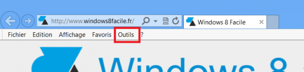 IE10 Outils
