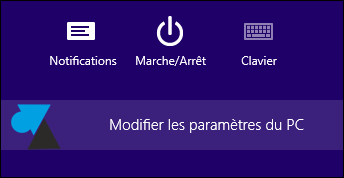 Windows8 Parametres PC