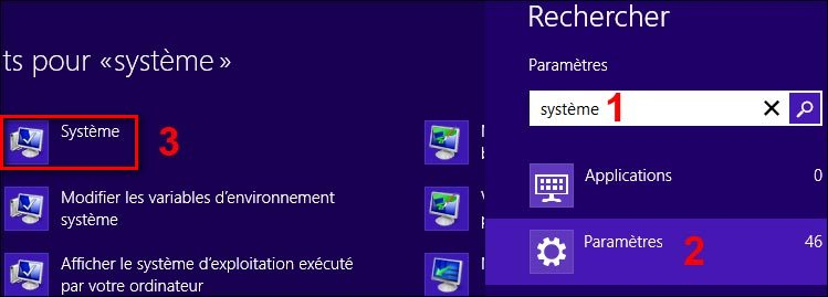 Windows8 proprietes systeme