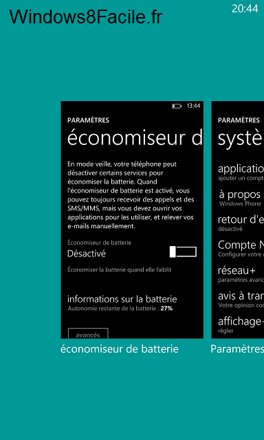 Windows Phone 8 Selection application