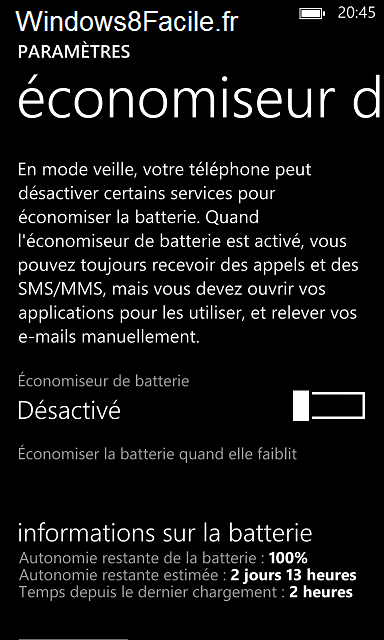 Windows Phone fermer application