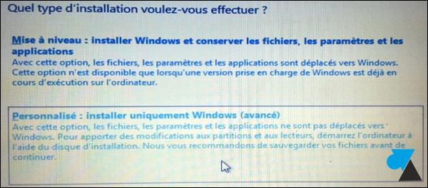 Windows 8 installer formater comment faire novice