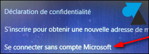 Windows 8 creer un compte local