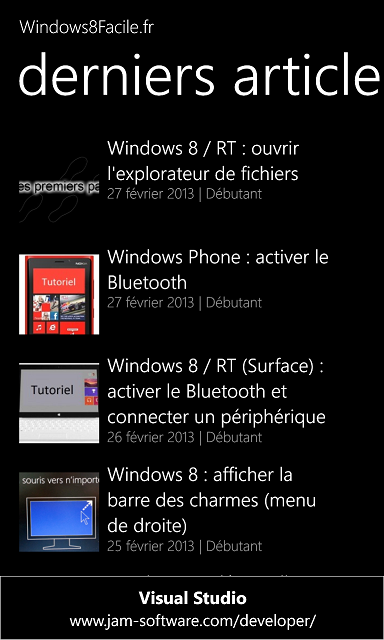 Windows8Facile derniers articles
