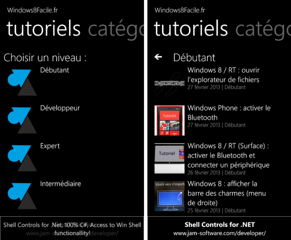Windows8Facile tutoriels