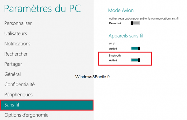Windows 8 activation bluetooth 2