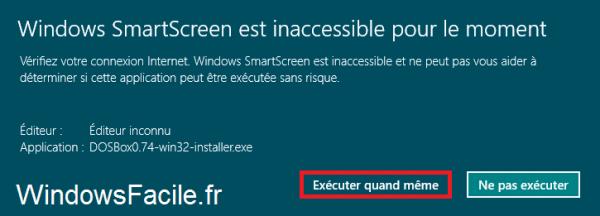 DOSBox Windows 8