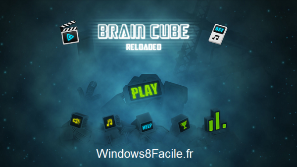 Brain Cube Reloaded accueil