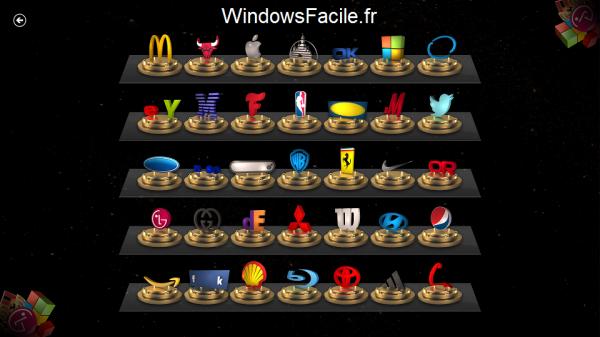 3D Logo Quiz logos