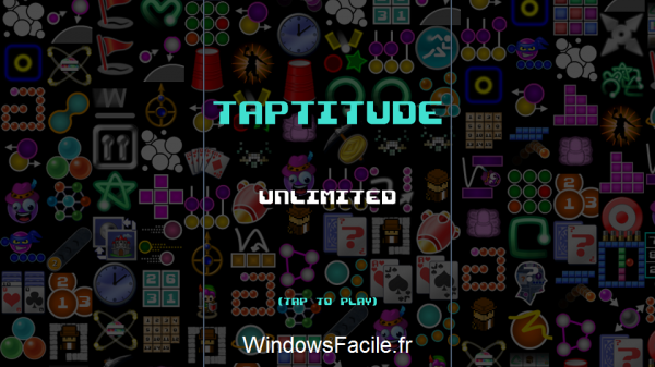 Windows 8 Taptitude Unlimited