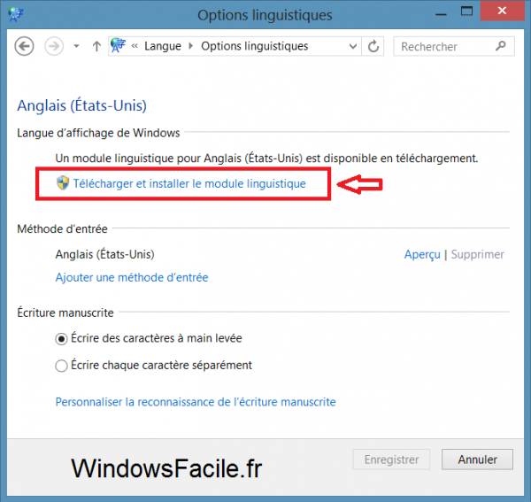 Windows 8 8 1 Changer La Langue Du Systeme Windowsfacile Fr