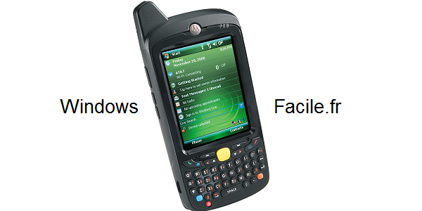 tutoriel PDA windows mobile active sync