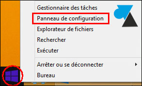 tutoriel Windows 8 8.1 supprimer icone FRA EN barre des taches