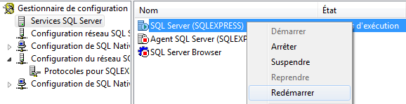 SQL Server 2008 R2 services systeme