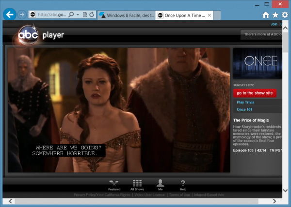 Once upon a time sous-titre