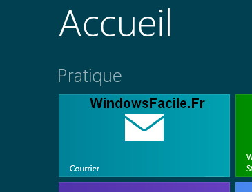 Application Courrier