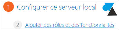 Windows Server 2012 ajouter role fonctionnalite
