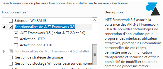fonctionnalites de NET Framework 3.5