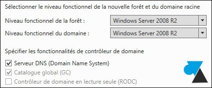 tutoriel Windows Server 2012 R2 installer serveur DNS