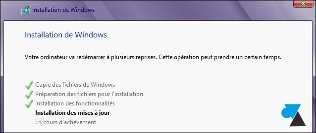 VMware Player Workstation installation Windows copie fichiers