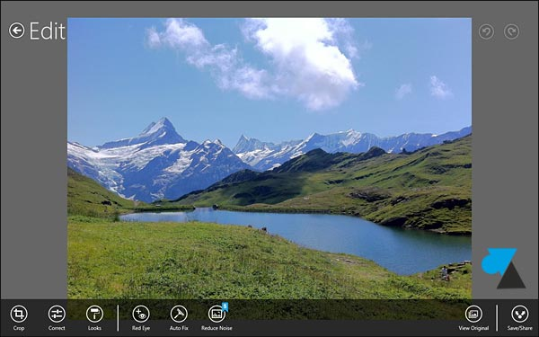 Adobe Photoshop Express Windows 8 RT