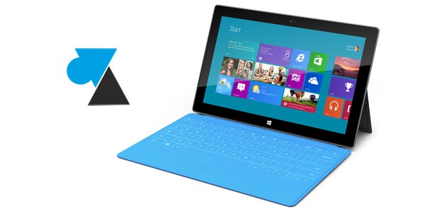 Microsoft Surface Pro Windows 8 Professionnel